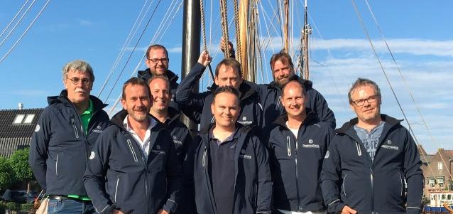 Team OptimaData 2018 during OptimaData sail event