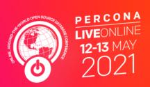 Percona Live Online 2021
