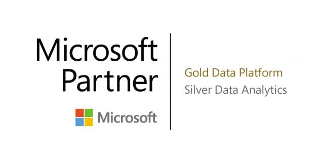 OptimaData is Microsoft Gold partner voor dataplatform en Silver voor Analytics.