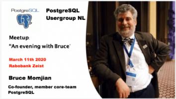 Een avondvullend PostgreSQL programma met 1 va nde Co-founders.