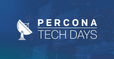 Percona TechDays, online day-events with PostgreSQL, MongoDB and MySQL sessions!