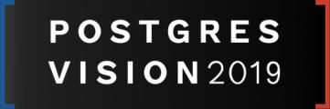 Postgres Vision 2019 Boston, waar business en techniek elkaar ontmoet!